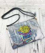 Load image into Gallery viewer, French Fries Sequined Purse