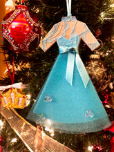 Load image into Gallery viewer, Blue Sisters Dress inspired by the costumes worn by Vera Ellen and Rosemary Clooney in White Christmas.