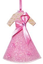 Load image into Gallery viewer, Breast Cancer Awareness Christmas Ornament - Light Skin Tone