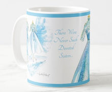 Load image into Gallery viewer, Sisters, Sisters Christmas Coffee Mug - 11oz