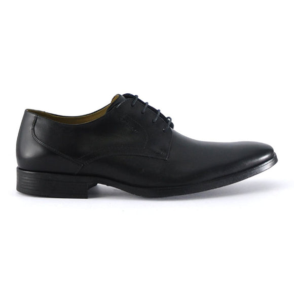 Elbrus Lace Up - Black Leather