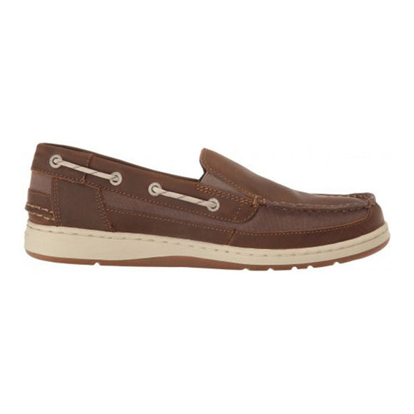 Maleah Slip On - Dark Brown Leather