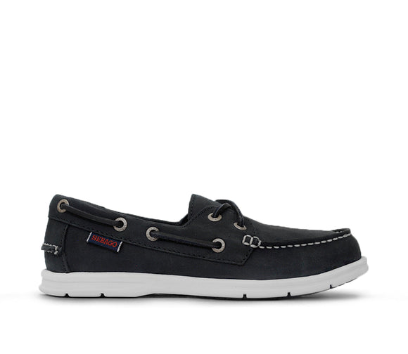 Litesides Two Eye M - Black Leather
