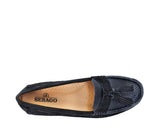 Wynne Tassel - Navy Nubuck Navy Leather / Gum Outsole