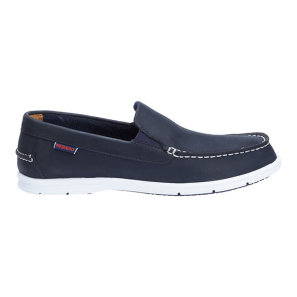 Litesides Slip On W - Navy Leather