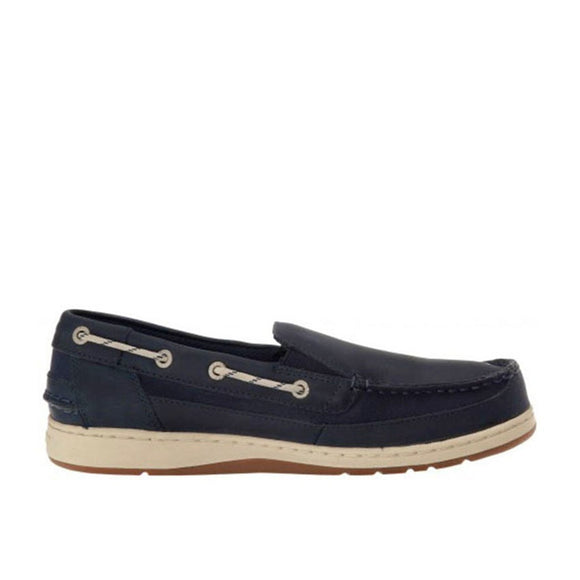 Maleah Slip On - Navy Leather
