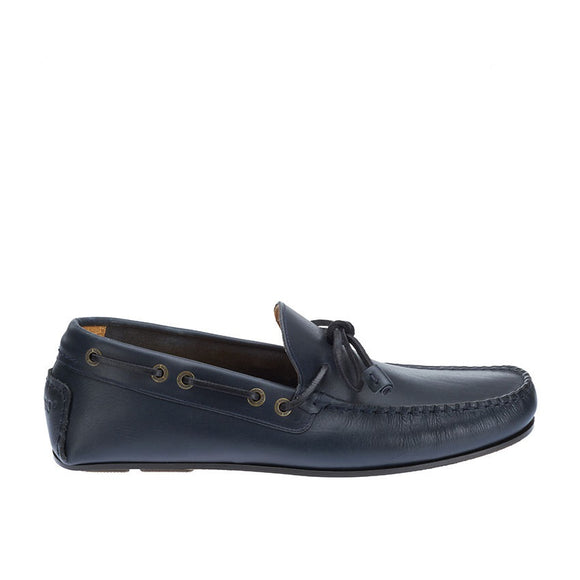 Tirso Tie M - Navy Leather