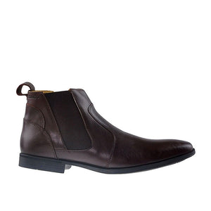 Elbrus Chelsea M - Dark Brown Leather