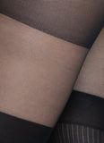Dagmar Over-Knee Tights - black