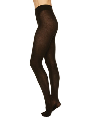 Alice Cashmere Blend Tights - black - Alt view