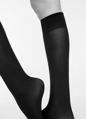 Ingrid Knee High - black