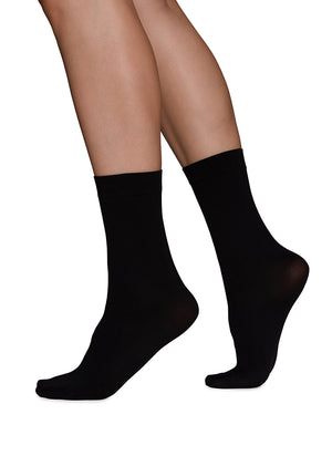 Ingrid Ankle Sock - black - Alt view