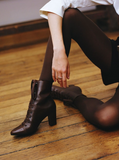 Olivia Tights - Dark brown