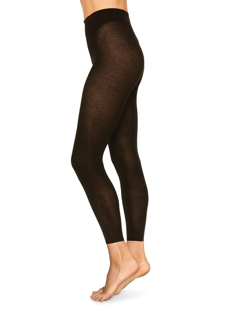 Alice Cashmere Blend Leggings - Black