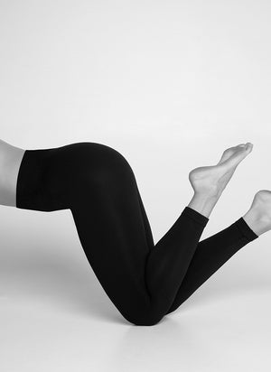 GERDA PREMIUM LEGGINGS - BLACK - Alt view