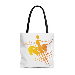 AOP Tote Bag - Big Logo_Yellow