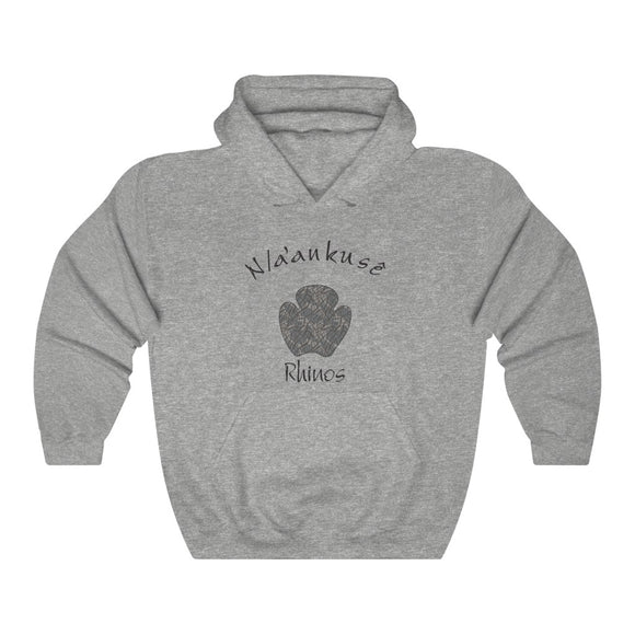 Unisex Heavy Blend™ Hooded Sweatshirt - Rhino Paw - N/a'an ku sê Online Shop