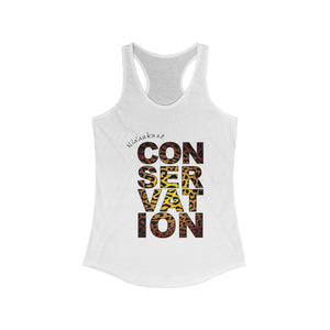 Women's Ideal Racerback Tank - Conservation Yellow Fade