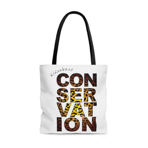 AOP Tote Bag - Conservation Yellow Fade
