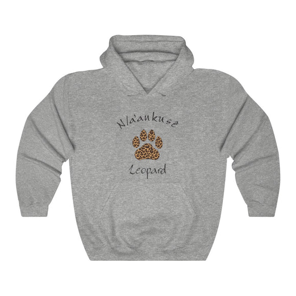 Unisex Heavy Blend™ Hooded Sweatshirt - Leopard Paw - N/a'an ku sê Online Shop