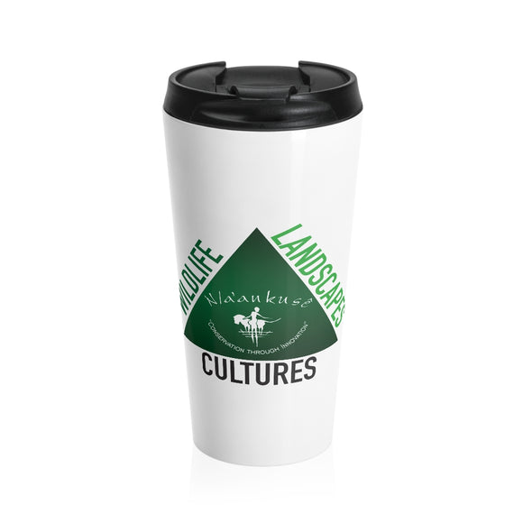 Stainless Steel Travel Mug - Naankuse Triangle