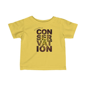 Infant Fine Jersey Tee - Conservation Yellow Fade