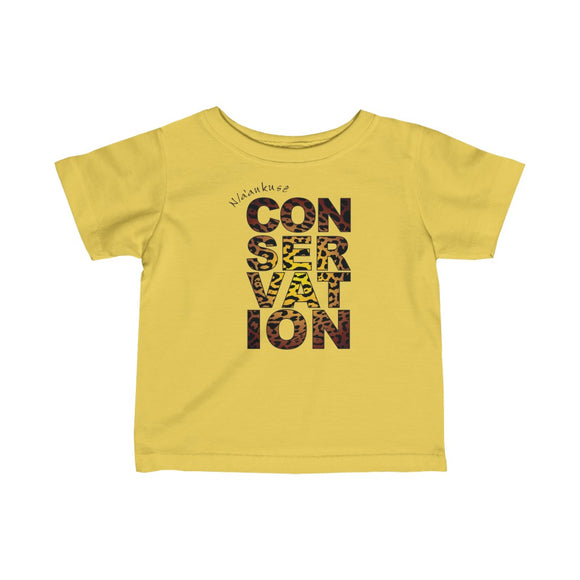 Infant Fine Jersey Tee - Conservation Yellow Fade - N/a'an ku sê Online Shop