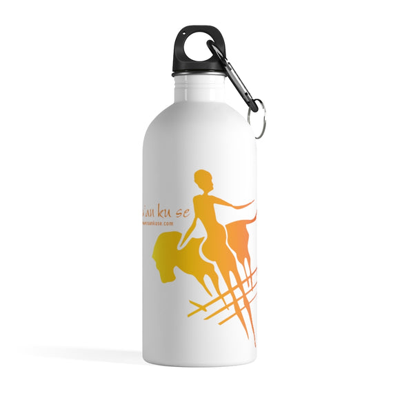 Stainless Steel Water Bottle - Big Logo_Yellow