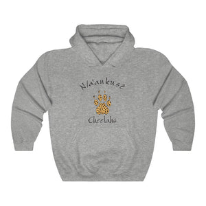 Unisex Heavy Blend™ Hooded Sweatshirt - Cheetah Paw