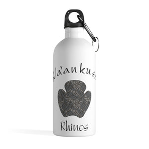 Stainless Steel Water Bottle - Rhino Paw