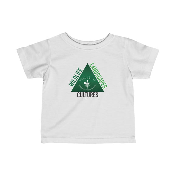 Infant Fine Jersey Tee - Naankuse Triangle