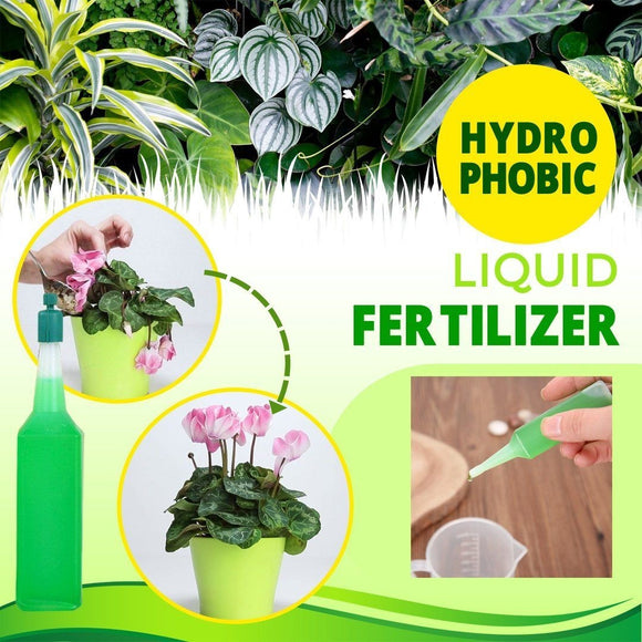 Agricultural Project: Hydrophobic Liquid Fertilizer