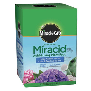 Agricultural Project: Miracid Acid-Loving Plant Food