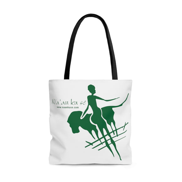 AOP Tote Bag - Big Logo_Green