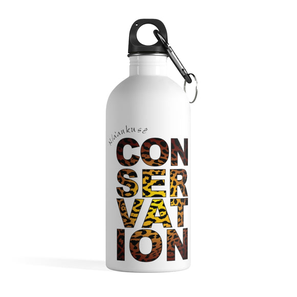 Stainless Steel Water Bottle - Conservation Yellow Fade