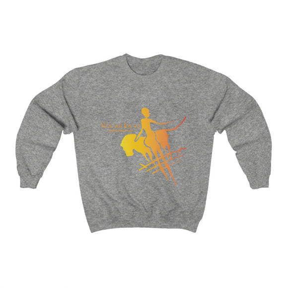 Unisex Heavy Blend™ Crewneck Sweatshirt - Big Logo_Yellow - N/a'an ku sê Online Shop