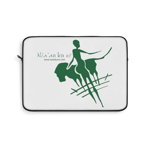 Laptop Sleeve - Big Logo_Green - N/a'an ku sê Online Shop