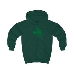 Kids Hoodie - Big Logo_Green - N/a'an ku sê Online Shop