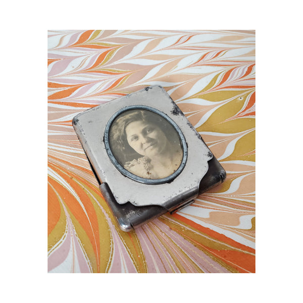 19th Century Cameo Matchbook