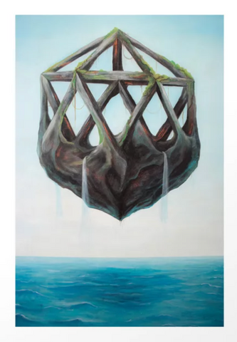 'Floating Rock' by Ryan Breault - 8x10 Print