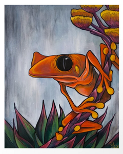 'Yucca Frog' by Ryan Breault - 11x14 Print