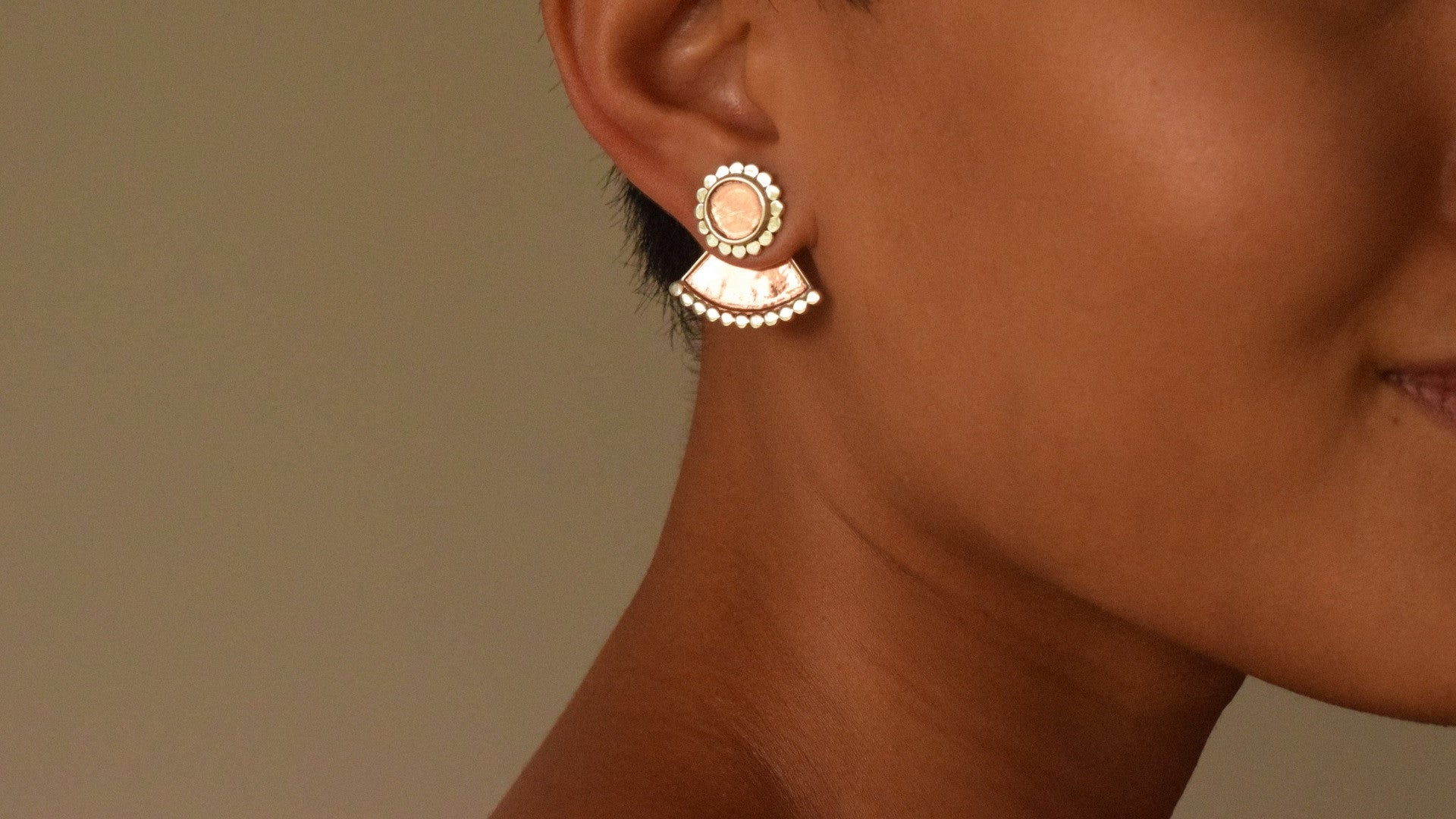 'Abhogi' Ear Jackets