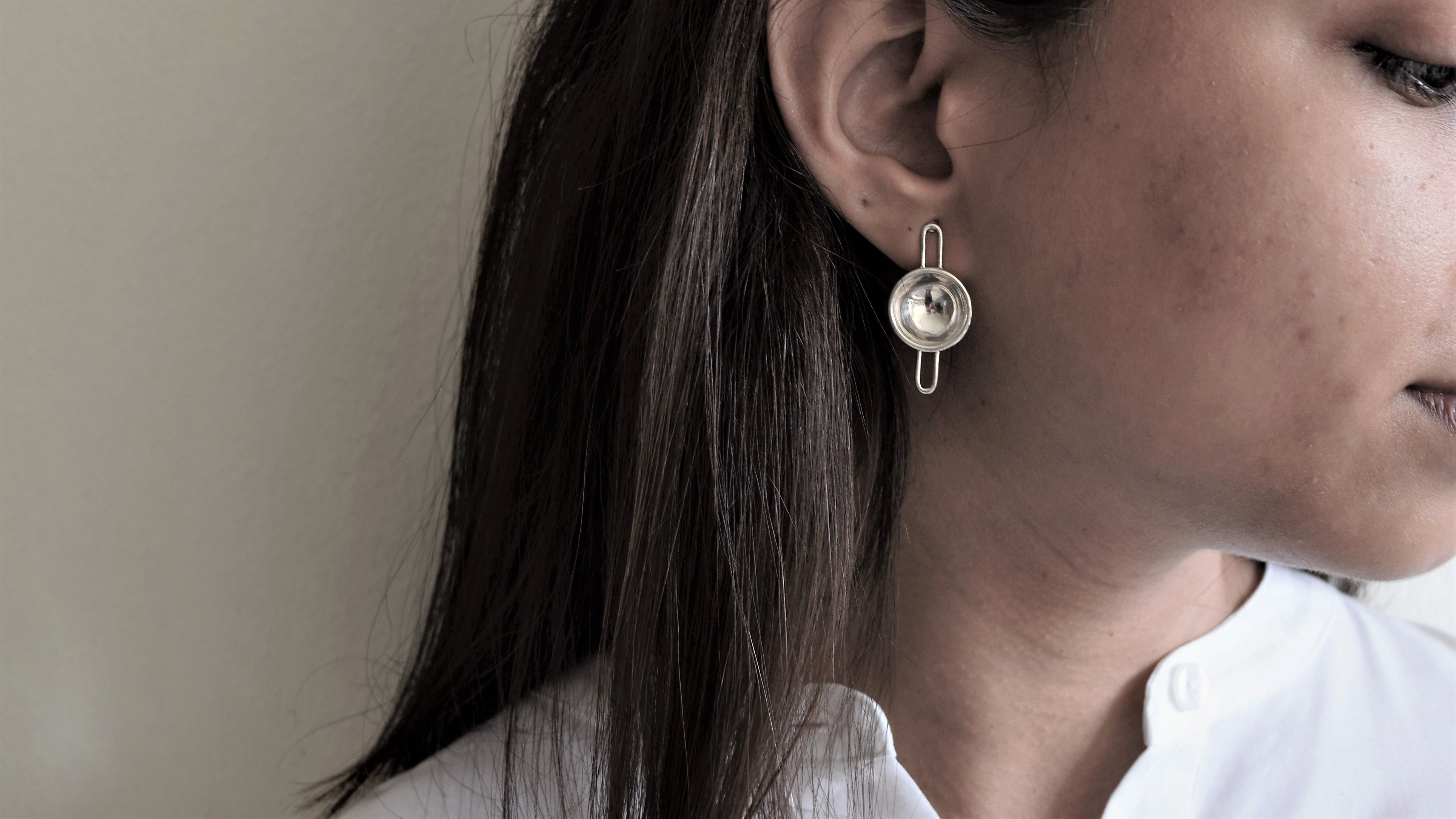 'Oggaraney' Stud Earrings