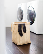Load image into Gallery viewer, Bidayuh Laundry Basket with Handle