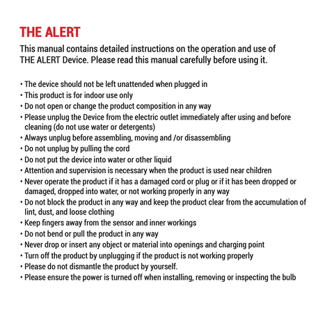 The Alert by Dutchinno Social Distancing Safety