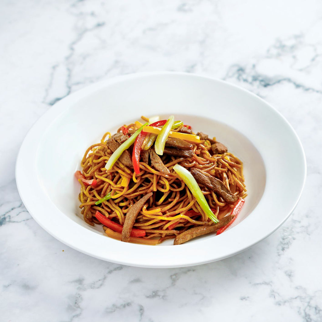 Stir-fried Noodles with Duck