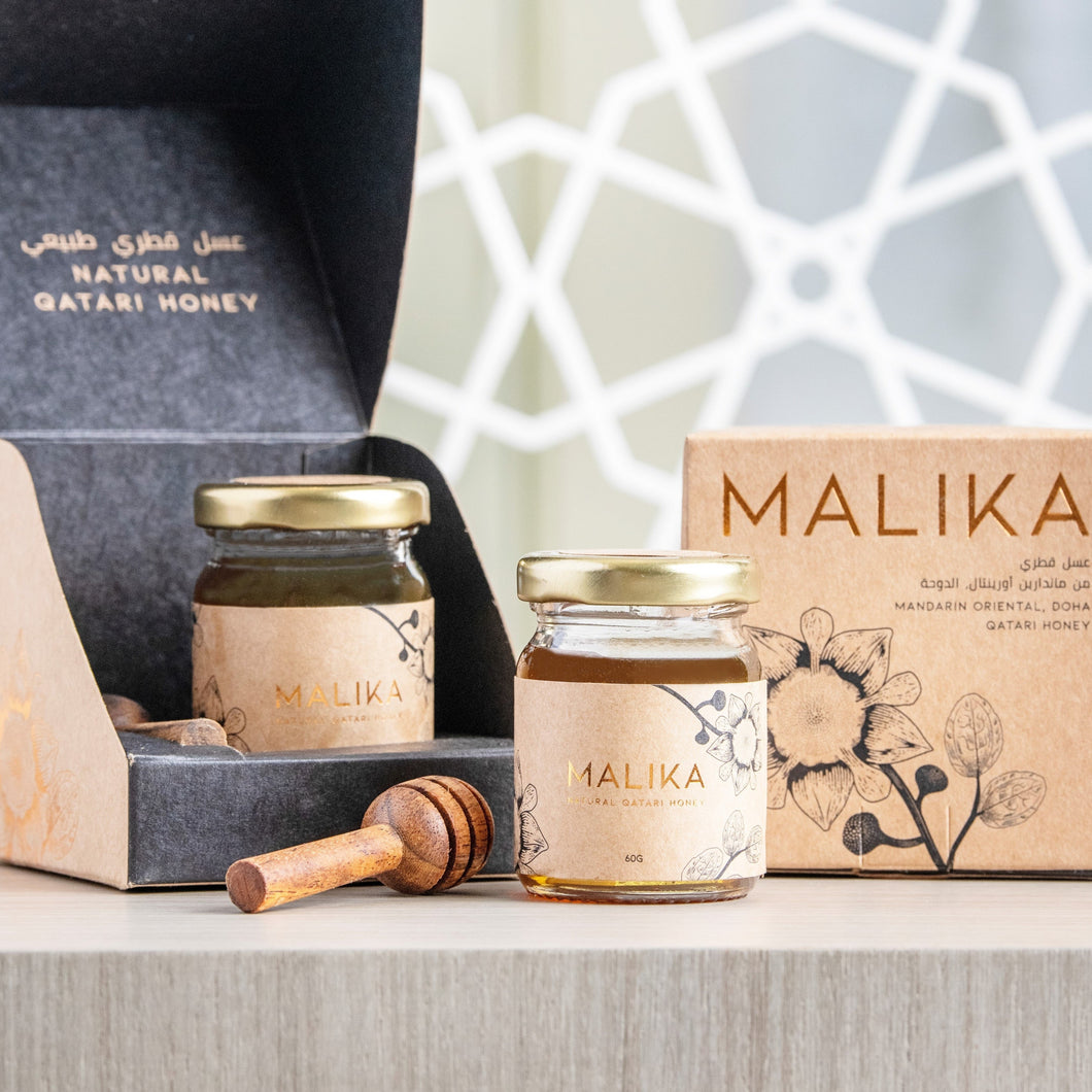 Malika Honey Jar