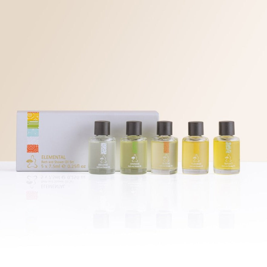 Elemental Bath & Shower Oil Set