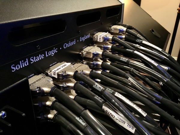 SSL XL Desk Rear DB25 Cable Installation - Pro Audio Boutique