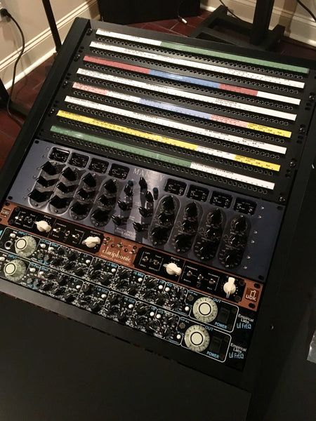 Sterling Modular Top Left Rack Full - Pro Audio Boutique Installations